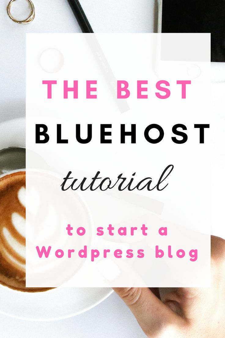 The best bluehost tutorial to start a wordpress blog. Start a blog step by step to start a blog to make money. Start a blog for free with this tutorial on how to start a blog with Wordpress and make money.
