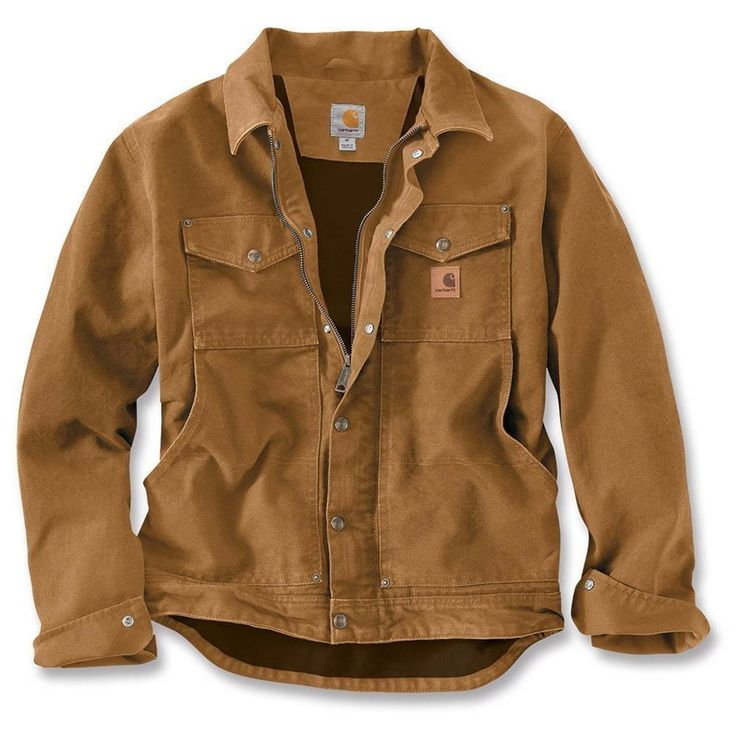 Men's Carhartt Berwick Jacket - Carhartt Brown