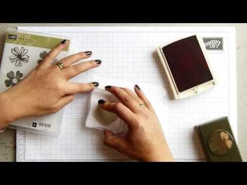 Http://www.Pootles.co.uk Stampin Up UK demo Sam Donald shares a card using the…