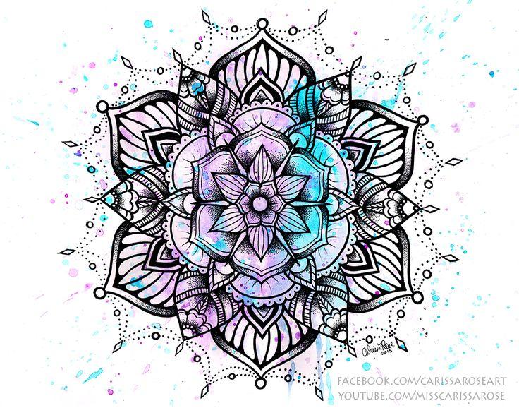 Mandala II by misscarissarose on DeviantArt