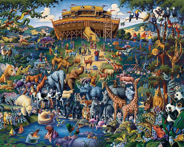 I need help with my art paper about noah's ark by Edward Hicks?
