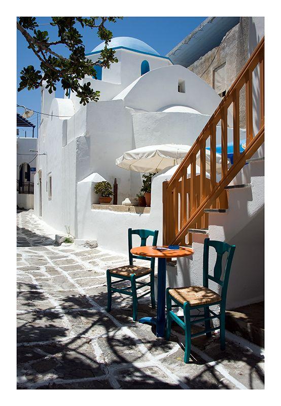 Schattiges Plätzchen mit Urlaubsflair auf Griechenland …