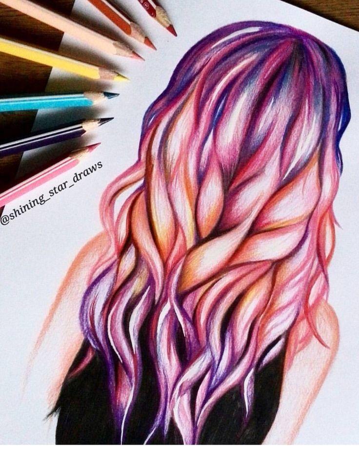 El cabello de una mujer es un lienzo para un artista