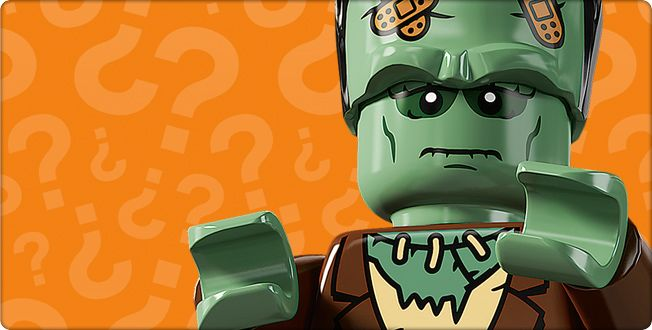The Monster is a minifigure that was released in 2011 as part of 8804 Minifigures Series 4. His head has black hair on top and printing of multiple bandages. He has a brown tuxedo and brown legs, but no accessories. Notes The Monster's head is made up of two parts; the basic minifigure head and a type of headgear that makes his head seem taller, similar to Frankenstein's Monster from the Studios theme., The Crazy Scientist is The Monster's creator. The Crazy Scientist is also from...