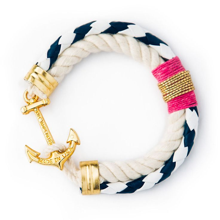 Absolutely love this anchor rope bracelet!