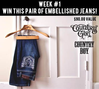 Fall Giveaway Week #1: Embellished Jeans
