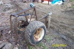 Log Crane Homemade Tools Homemade Tractor Logging