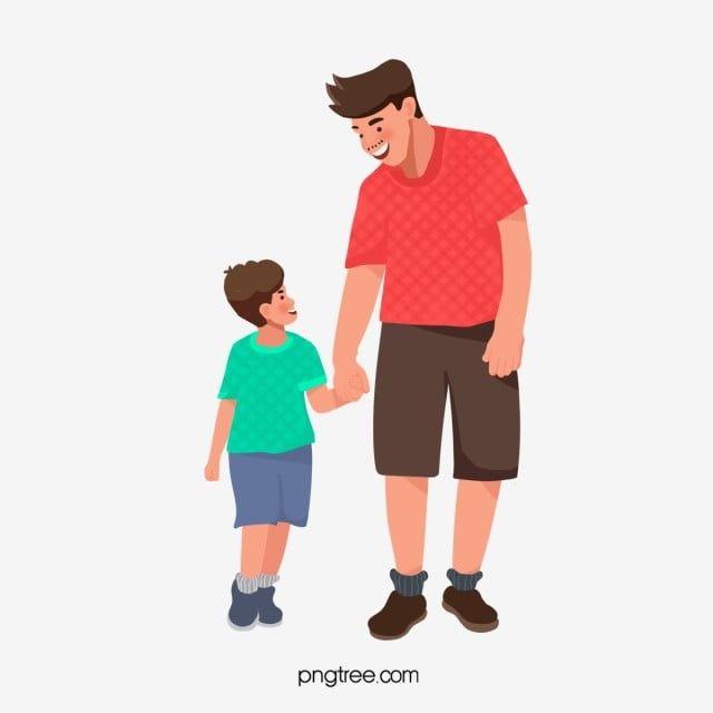 مرح مبتسم يضحك الأب وابنه يمشي معا الآب ابن بابا Png وملف Psd للتحميل مجانا Father And Son Family Guy Sons