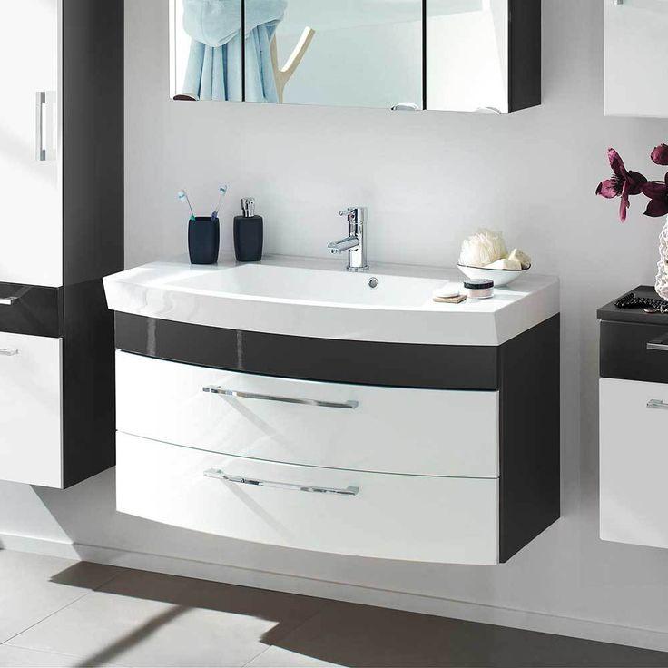 die besten 25 waschbeckenunterschrank mit schubladen ideen auf pinterest ikea badezimmer. Black Bedroom Furniture Sets. Home Design Ideas