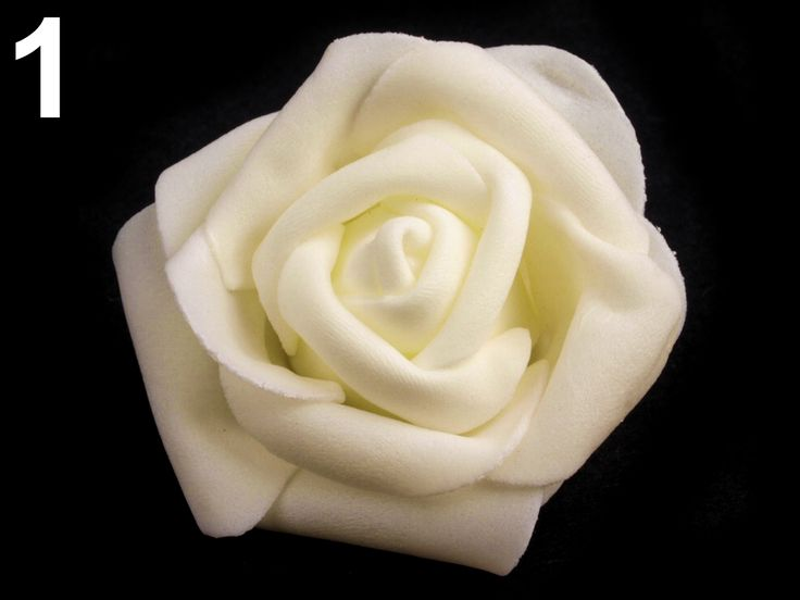 Dekorace růže Ø6 cm