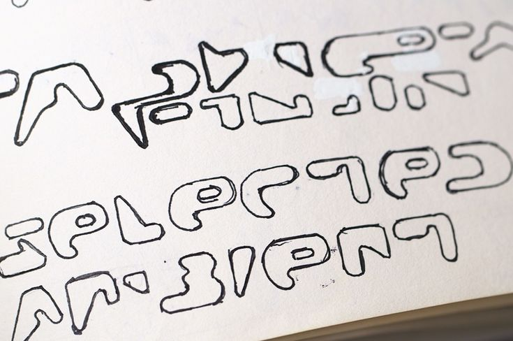 RA News: Aphex Twin logo designer Paul Nicholson shows more unseen sketches