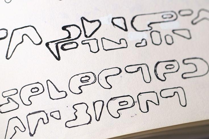 RA News: Aphex Twin logo designer Paul Nicholson shows more unseen sketches