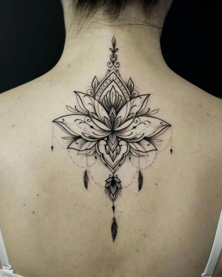 Flower Tattoo Design Flowertattoodesign Neck Tattoo Beautiful