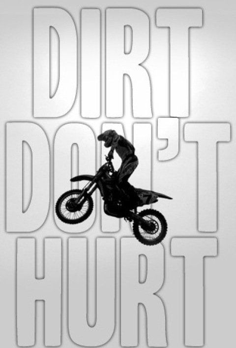 silly boys, dirtbikes are for girls.he he...sprockets can do some damage though.