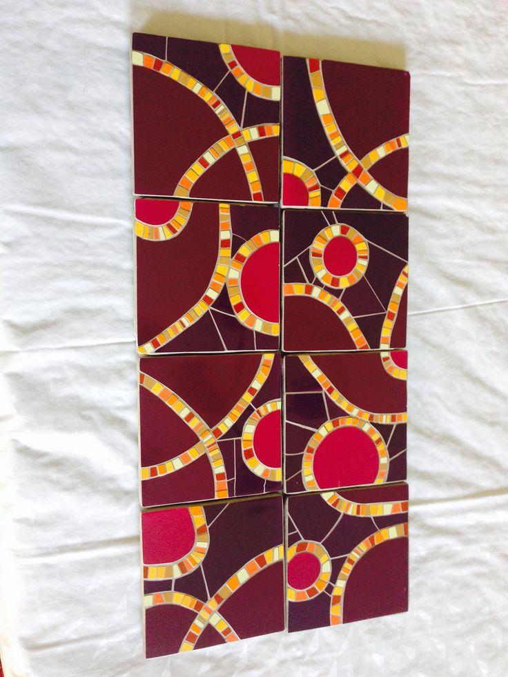 8 posavasos: mi mosaico