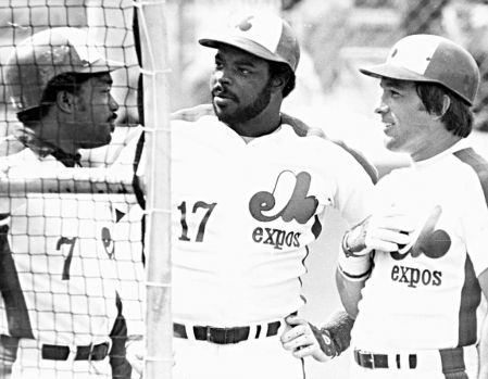 Les Expos années 70 - équipe de Baseball