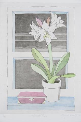 Stewart Merrett 'Secret Box' - etching on paper