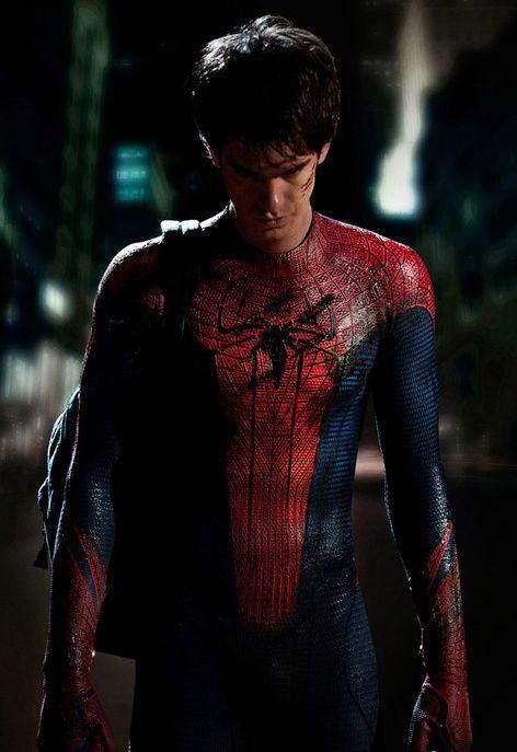 Quand il a enfilé le costume moulant de Spider-Man en 2012