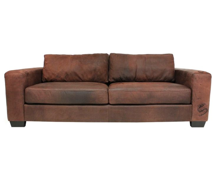 Senza 2.5 Seater Sofa (Leather) - Sofas | Weylandts