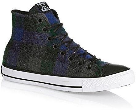 Converse X WOOLRICH CHUCK TAYLOR ALL STAR HIGH TOP mens fashion-sneakers 153835C...