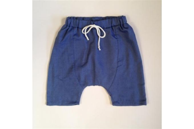 Cotton panel shorts  by Cat's Cradle