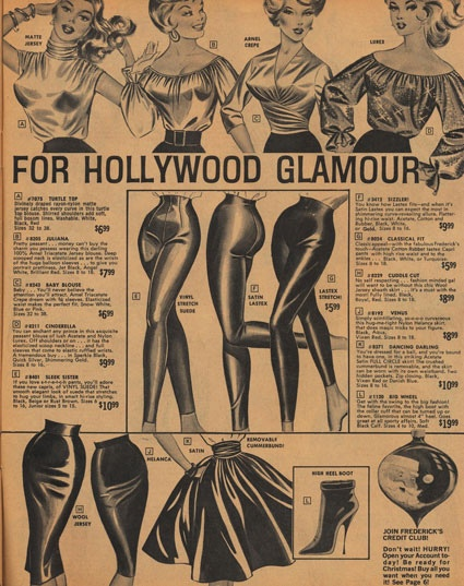 Fredericks of Hollywood 1963