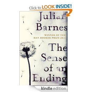 The Sense of an Ending. A friend recommended this so it's on my 'to read' list.