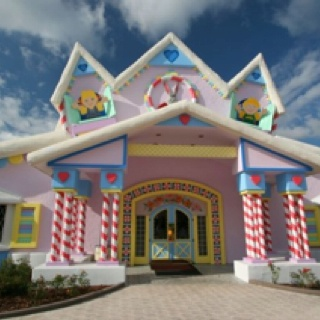 Gingerbread House At Give Kids The World Village Florida Best Time Ever With Mum