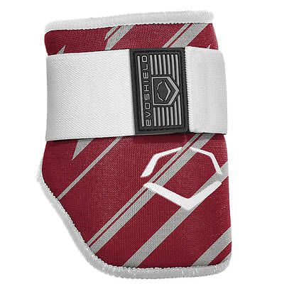 Other Baseball Protective Gear 181317: Evoshield Speed Stripe Adult Baseball Batters Elbow Guard - Maroon -> BUY IT NOW ONLY: $44.95 on eBay!