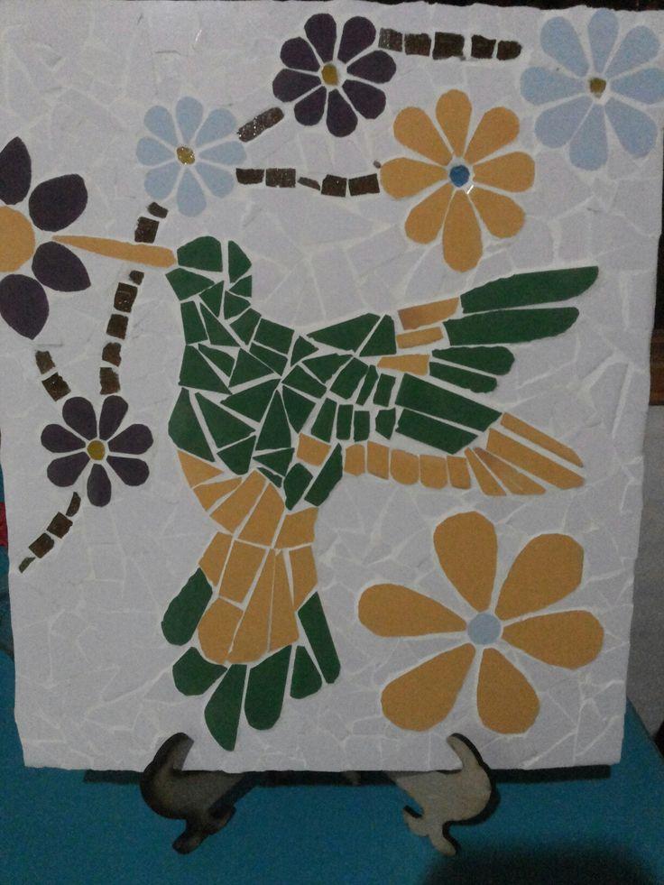 Mosaico picaflor