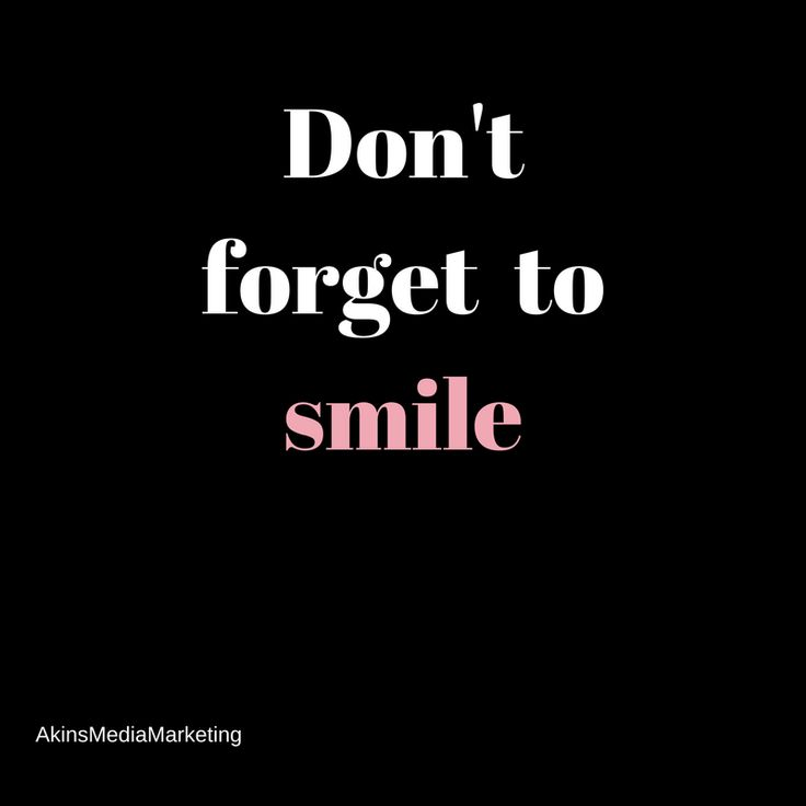 When in business and in life, when it gets a little rough, when you want to complain... Smile instead   Smiles are contagious, share them often!
