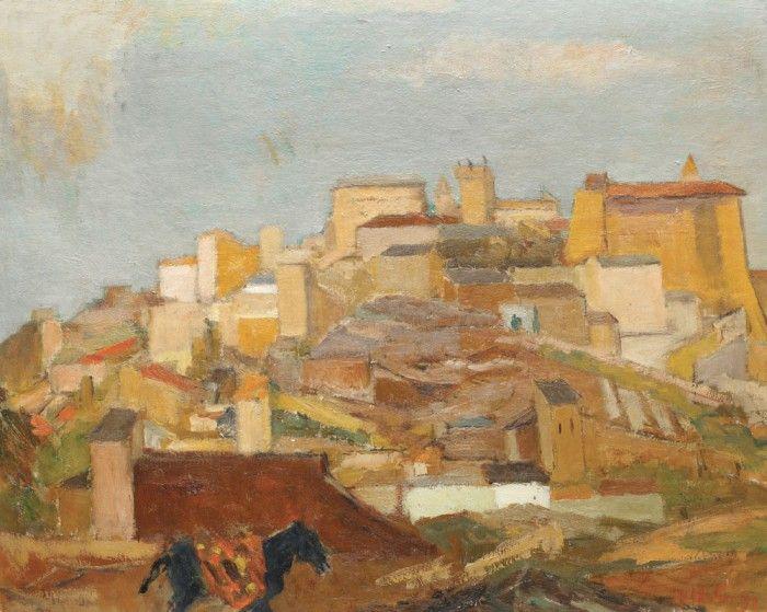 Henri H. Catargi, Peisaj din Caseres, Spania