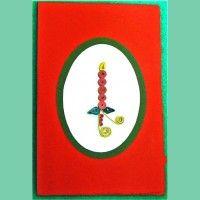 Candela di Natale (cod. 3497)