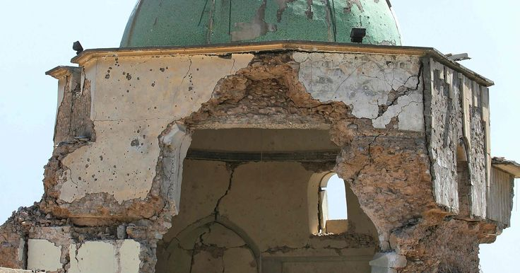 Iraqi military declares famed Mosul mosque captured, ISIS caliphate 'has fallen' #World #iNewsPhoto