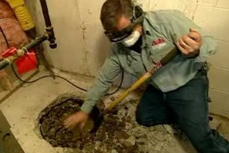 Keep your basement dry with a sump pump. Tom Silva shows you how to install one here. | thisoldhouse.com