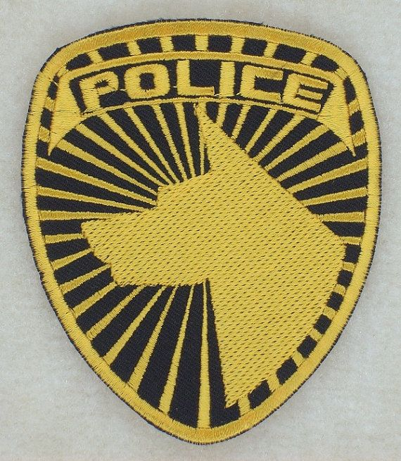 Power Rangers SPD Insignia / Logo Sew on Patch Gold Version