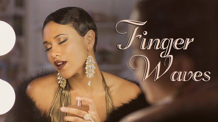 How To Style Finger Waves on Short Hair | DAY 3 of 7 DAYS of Hair [Video]  Read the article here - http://blackhairinformation.com/video-gallery/style-finger-waves-short-hair-day-3-7-days-hair-video/