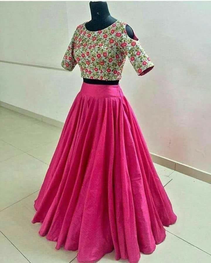 6e7d6d6a03 Crop Blouse, Blouse And Skirt, Dress Skirt, Lehenga Crop Top, Lehenga Skirt