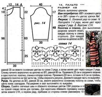 вязанные пальто 2016 спицами со схемами фото: 14 тыс изображений найдено в Яндекс.Картинках