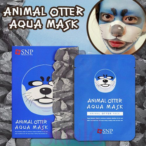 SNP Animal Otter Aqua Mask - skin18com  - 1