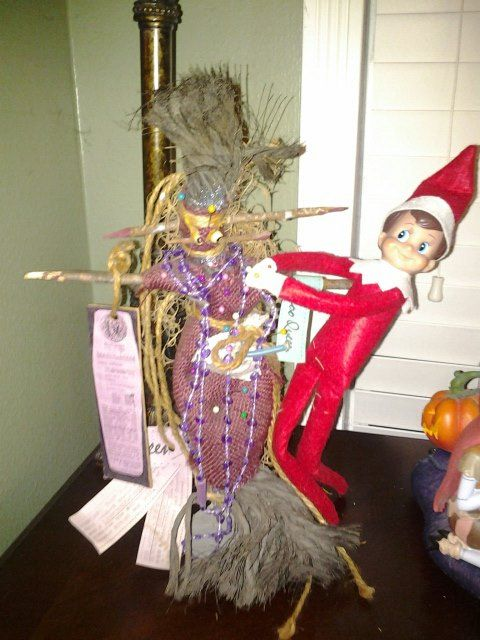 Malachi found a voodoo doll | evil shelf elf | Christmas ...