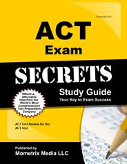 Prepare with our ACT Study Guide and ACT Exam Practice Questions. Print or eBook. Guaranteed to raise your ACT test score. Get started today!