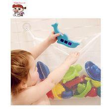 Grande Capacidade Crianças Baby Bath Tub Toy Tidy Armazenamento Ventosa Banheiro produtos de Higiene Pessoal Saco Saco de Malha Bolsa de Acessórios Para Piscinas de Natação(China (Mainland))