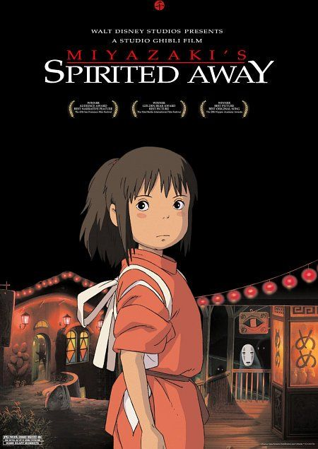 Spirited Away: Movie Posters, Not Them Miyazaki, Spiritedaway, Hayaomiyaza The, Spirited Away, Kids Movie, Spirit Away, Favorite Movie, Studios Ghibli