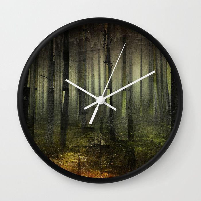 Why Am I Here Wall Clock By Happymelvin Nature Darkforest