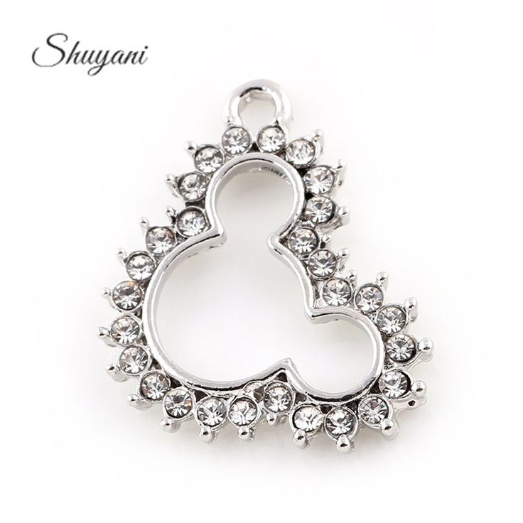 Find More Charms Information about 20*25mm Silver Plated Crystal Mouse Floating Charms Pendant For DIY Necklace Bracelet Jewelry Making,High Quality pendant,China pendant bead Suppliers, Cheap mouse rechargeable from shuyani Official Store on Aliexpress.com