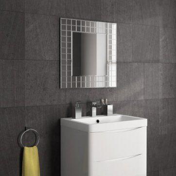 600x600mm Mosaic Mirror [PT-MC152] - £69.99 : Platinum Taps & Bathrooms