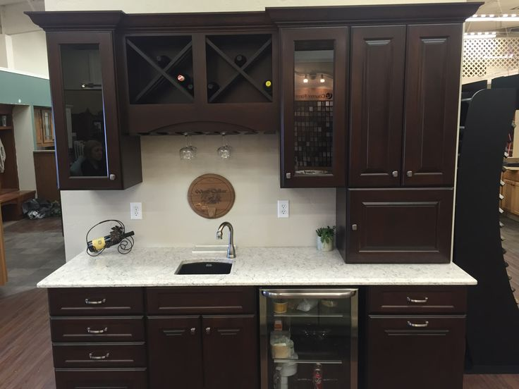 Northern Classic Cabinetry Wildwood Maple Russet Door Lg