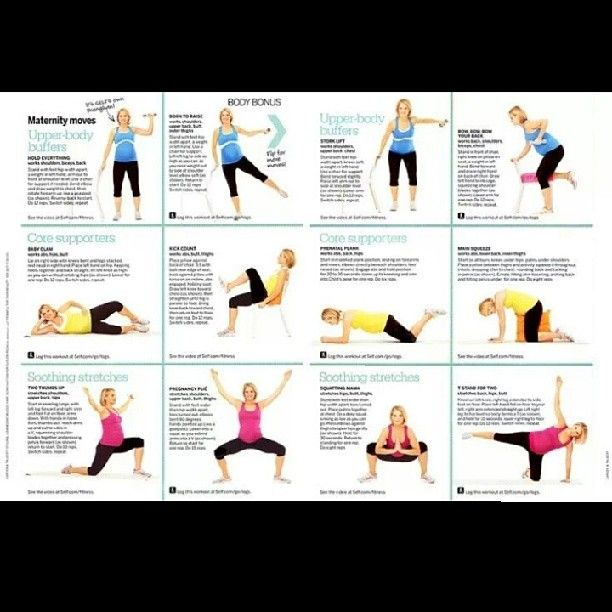 Pregnancy Work-out