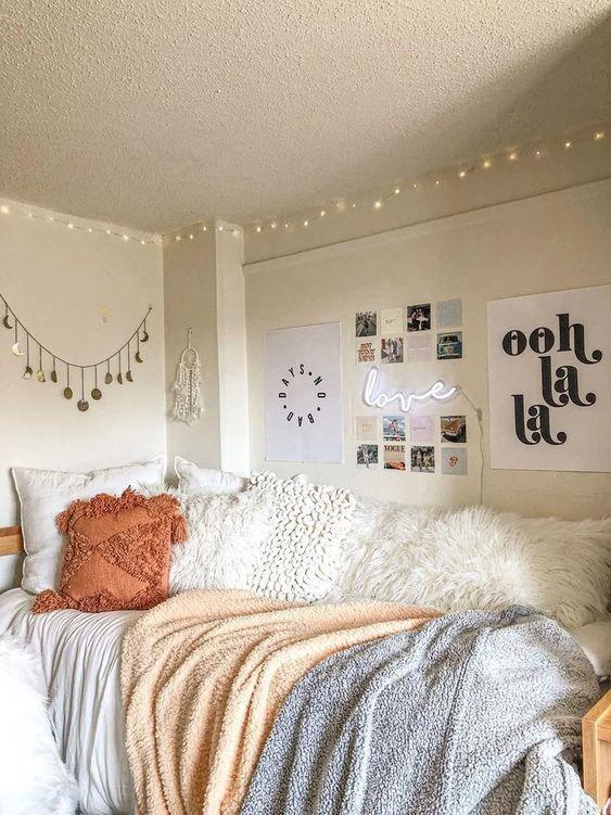College Dorm Room Ideas Boho